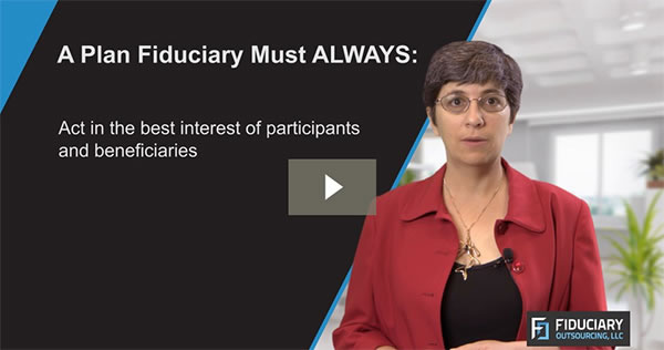 What is a Plan Fiduciary?